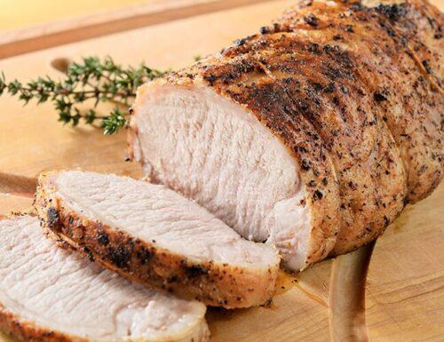 Lomo cerdo cocinado