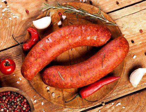 Chorizo con chile crudo